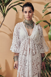 Punta Gallera lace cover up