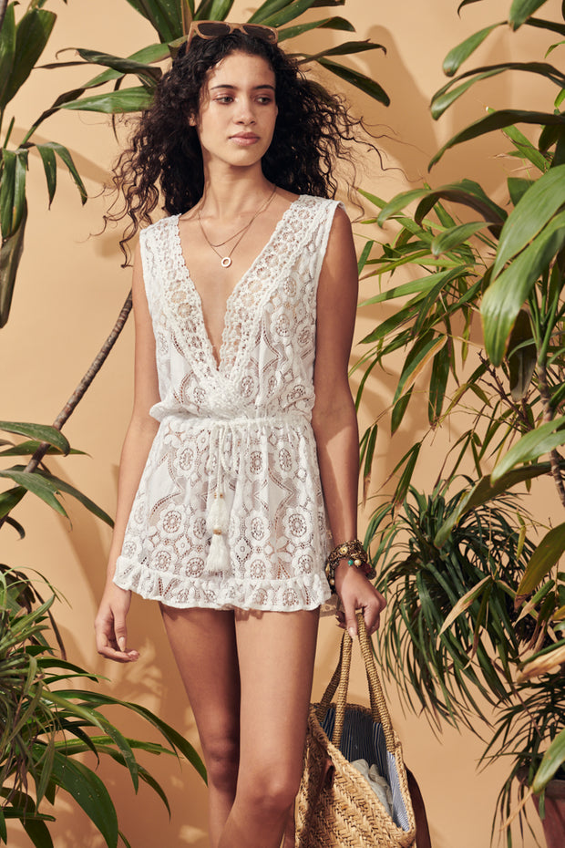 Illetes Lace Playsuit