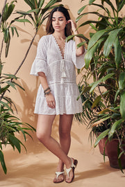 Cala Saona broderie anglaise dress