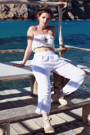 Es Vedra Lace Beach Pants - Yangzom Ibiza Resortwear