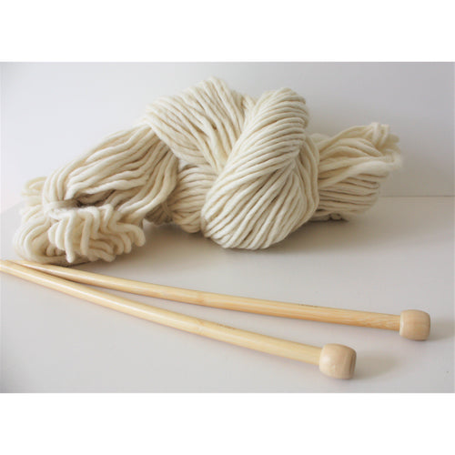 12mm Bamboo Knitting Needles - Perfect For Chunky Knitters - King & Eye
