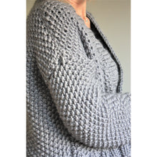Load image into Gallery viewer, Knitting Pattern - Chunky Knit Cropped Cardigan-King & Eye