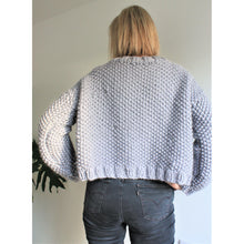 Load image into Gallery viewer, Knit Kit - Easy Chunky Knit Crop Cardigan-King & Eye