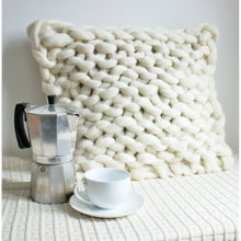 Load image into Gallery viewer, Knitted Merino Pillow - King & Eye