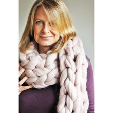 Load image into Gallery viewer, Handmade Oversize Chunky Knit Merino Scarf-Hats & Scarves-King & Eye