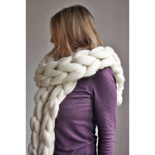 Load image into Gallery viewer, Oversize Chunky Knit Scarf-Hats & Scarves-King & Eye