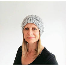 Charger l'image dans la galerie, Crochet Pattern - Womens Crochet Slouchy Beanie-Patterns & Kits-King & Eye