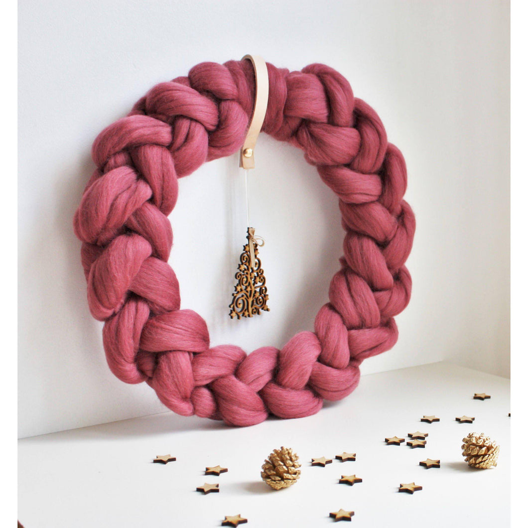 Christmas Decor - Farmhouse Style Winter Wreath-Holiday Decor-King & Eye