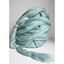 Cargar imagen en el visor de la galería, Teal Giant Yarn For Arm Knitting Chunky Blankets-Super Bulky Yarn-King & Eye