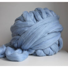 Load image into Gallery viewer, Teal Giant Yarn For Arm Knitting Chunky Blankets - King & Eye
