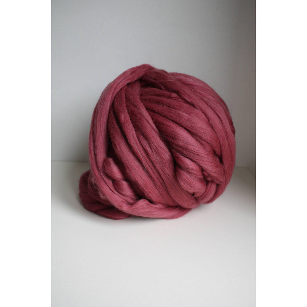 Chunky Merino Roving Yarn For Arm Knitting-Super Bulky Yarn-King & Eye