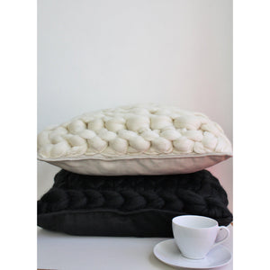 Knitted Merino Pillow - King & Eye
