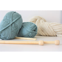 Load image into Gallery viewer, Teal Merino Super Chunky Wool (Size 6)-Super Bulky Yarn-King & Eye