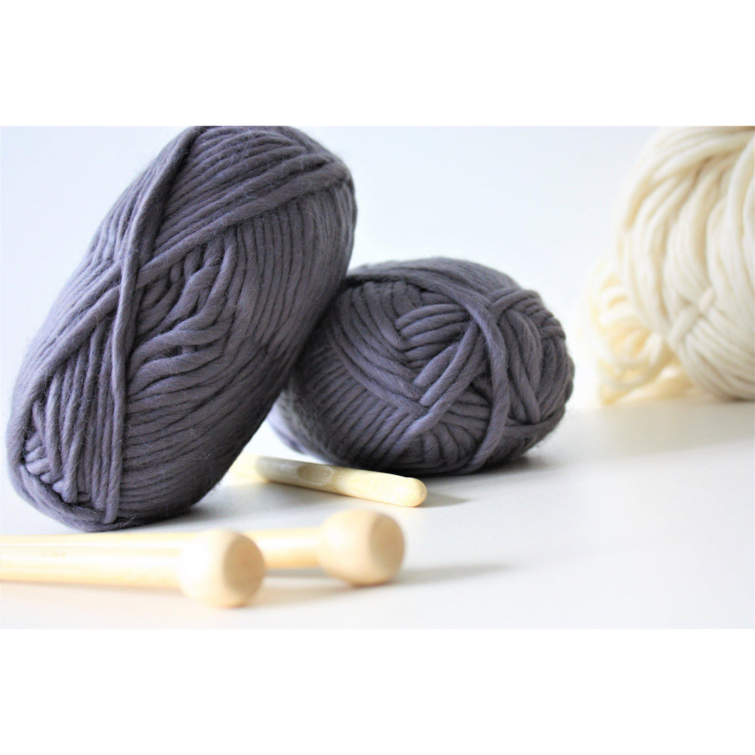 Chunky Merino Super Bulky Yarn - King & Eye