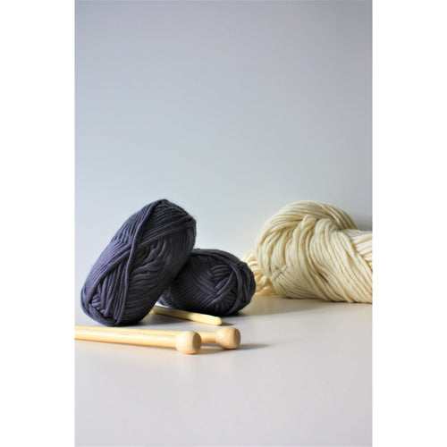 Super Bulky Chunky Merino Yarn (Size 6) - King & Eye