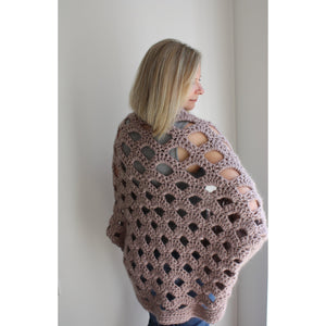 Crochet Kit - DIY Cardigan-Patterns & Kits-King & Eye