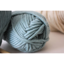 Load image into Gallery viewer, Teal Merino Super Chunky Wool (Size 6) - King & Eye