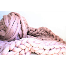 Load image into Gallery viewer, Chunky Arm Knit Blanket - 100% Pure Merino-Chunky Knit Blankets-King & Eye