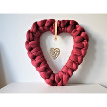 Load image into Gallery viewer, Farmhouse Style Boho Fall/Valentine Wreath-Holiday Decor-King & Eye