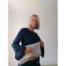 Load image into Gallery viewer, Crochet Boho Bag Pattern (Perfect with T Shirt Yarn)-Patterns & Kits-King & Eye