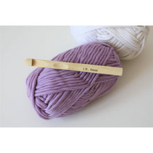Load image into Gallery viewer, Crochet Hook - 12mm Size O Bamboo For SIze 6 Super Bulky Yarn-Needles & Hooks-King & Eye