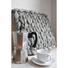 Load image into Gallery viewer, Farmhouse Style Chunky Knit Cushion-Cushions & Pillows-King & Eye