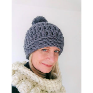Craft Kit - Crochet Hat-Patterns & Kits-King & Eye