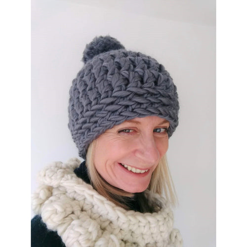 Craft Kit - Crochet Hat - King & Eye