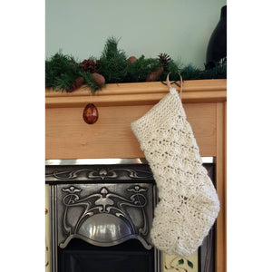Crochet Pattern Giant Christmas Stocking-Patterns & Kits-King & Eye