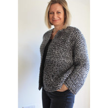 Load image into Gallery viewer, Knitting Pattern - Easy Chunky Knit 3 in 1 Sweater/Cardigan - King & Eye