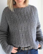 Charger l'image dans la galerie, Crochet pattern, Easy Crochet Sweater, Beginner Crochet Pattern, Oversized Sweater For Women, Summer Sweater Crochet Tutorial