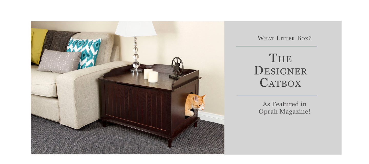 The Designer Catbox - Shop Litter Boxes