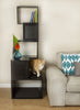 Sebastian Freestanding Modern Cat Tree in Black - Lifestyle Setting