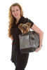 The Scarlett Pet Carrier - Metallic Gray