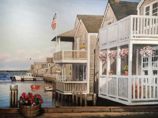 7 Paintings of Nantucket That Will Make You Feel Summer Nostalgia