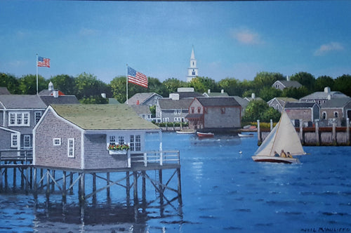 Summer afternoon in Nantucket by Neil McAuliffe