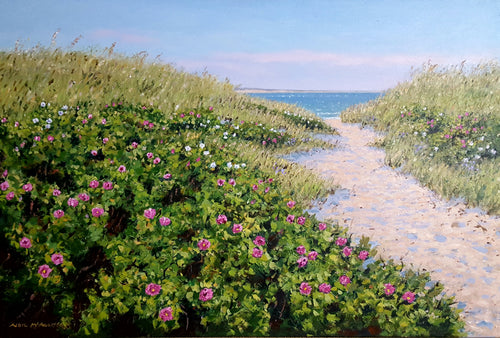 Heading to the Beach - Original Painting by Neil McAuliffe
