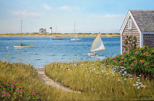 Chatham - oil on canvas by artist Neil McAuliffe