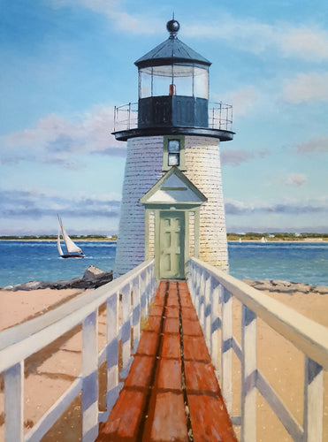Brant Point Light, Nantucket by Neil McAuliffe