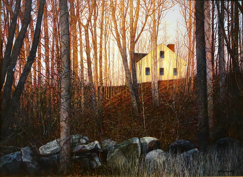 Morning Ridge - December by Roderick O'Flaherty -Realism Painting