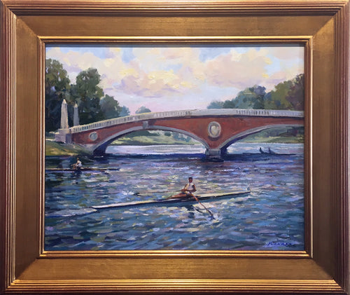 Scullers on the Charles