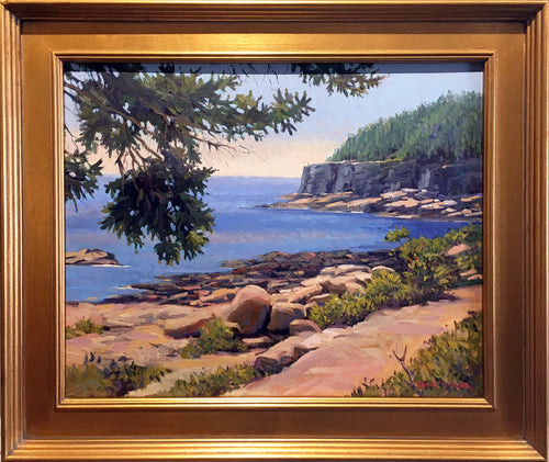 Acadia on the Loop  by Dianne Miller - Classic Painting Maine Scenary