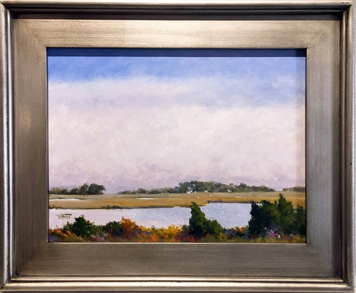 Marsh Haze By William Ternes (1933 – 2014) - Original Painting