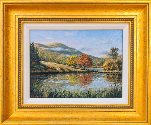 New England Fall - Original Oil on Canvas by Neil McAuliffe