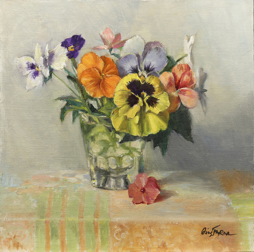 Bouquets of Pansies - Irina Furman