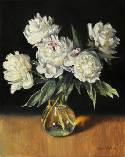 Bouquet of Winter Peonies - Irina Furman