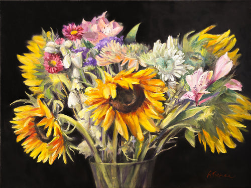 Bouquet with Sunflowers Irina Furman
