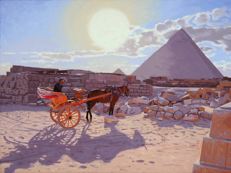 Egyptian Taxi by James Wolford