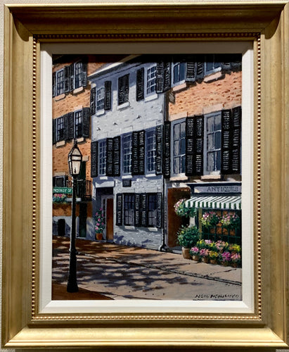 Beacon Hill - Original Oil on Canvas by Neil McAuliffe