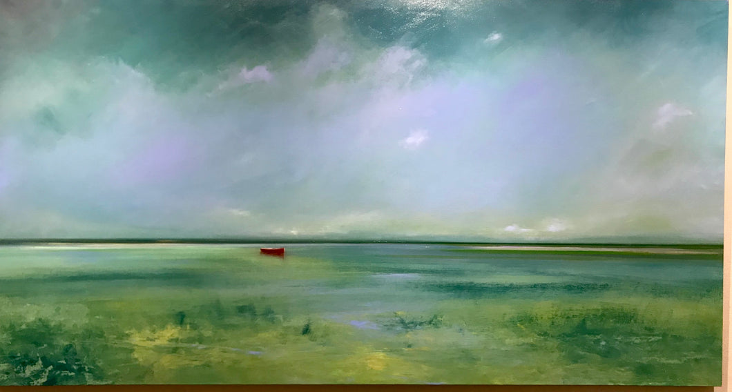 Summer's Day - Michael Marrinan Contemporary Original Painting